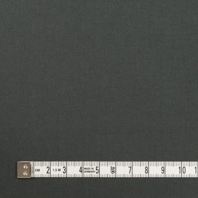 コットン&ポリウレタン×無地(スレートグレー)×サテンストレッチ_全2色_イタリア製 イメージ4