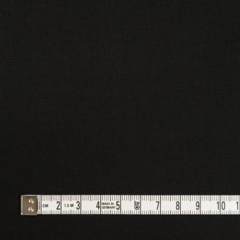 コットン&ポリウレタン×無地(ブラック)×サテンストレッチ_全2色_イタリア製 サムネイル4