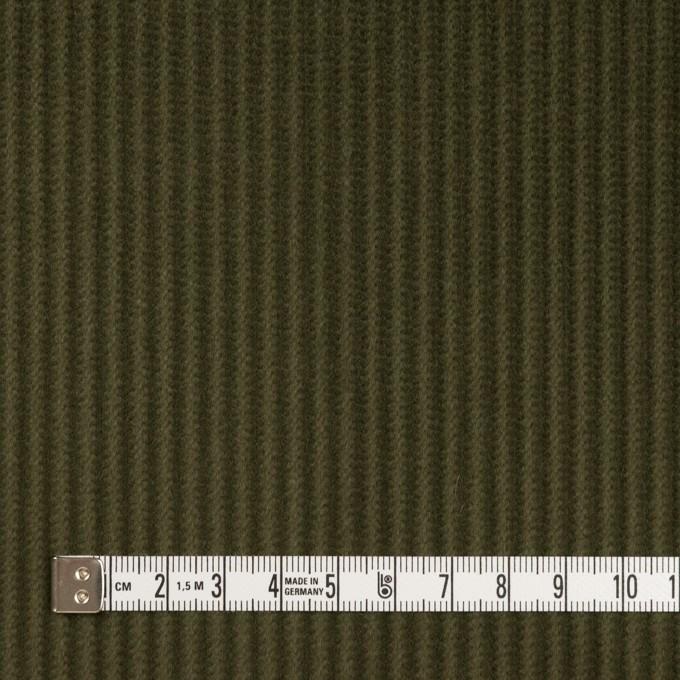 コットン×無地(カーキグリーン)×中太コーデュロイ_全5色 イメージ4
