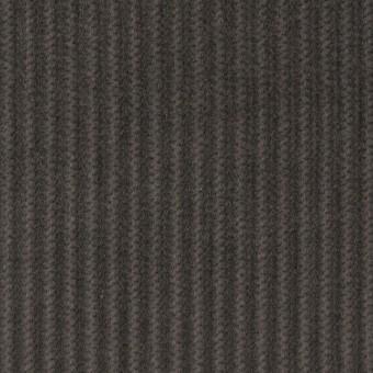コットン×無地(チャコールグレー)×中太コーデュロイ_全5色