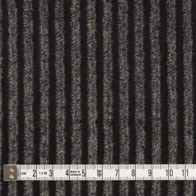 コットン×無地(チャコール)×極太コーデュロイ_全3色_イタリア製 イメージ4