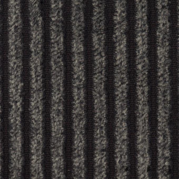 コットン×無地(チャコール)×極太コーデュロイ_全3色_イタリア製 イメージ1