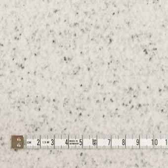 ウール&ナイロン×ミックス(アイボリー&ブラック)×圧縮ニット サムネイル4