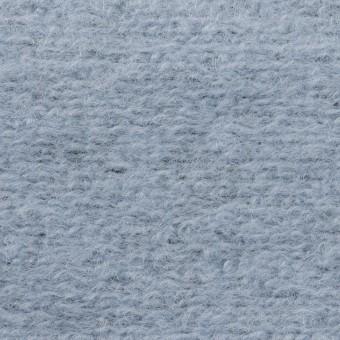 モヘア&ウール混×無地(ブルーグレー)×ループニット_イタリア製