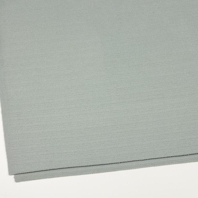 ウール&ナイロン混×無地(スモーキーリーフ)×ソフトメルトン イメージ2