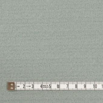 ウール&ナイロン混×無地(スモーキーリーフ)×ソフトメルトン サムネイル4