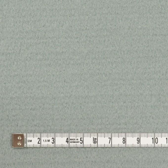 ウール&ナイロン混×無地(スモーキーリーフ)×ソフトメルトン イメージ4