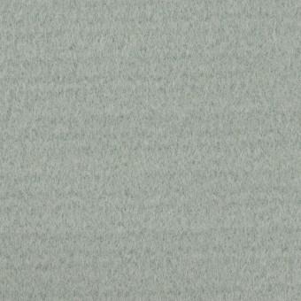 ウール&ナイロン混×無地(スモーキーリーフ)×ソフトメルトン