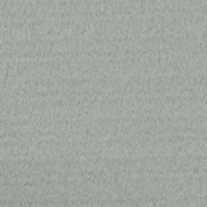 ウール&ナイロン混×無地(スモーキーリーフ)×ソフトメルトン イメージ1