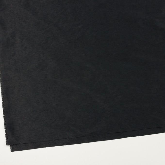ポリエステル×無地(ブラック)×形状記憶タフタ_全2色 イメージ2