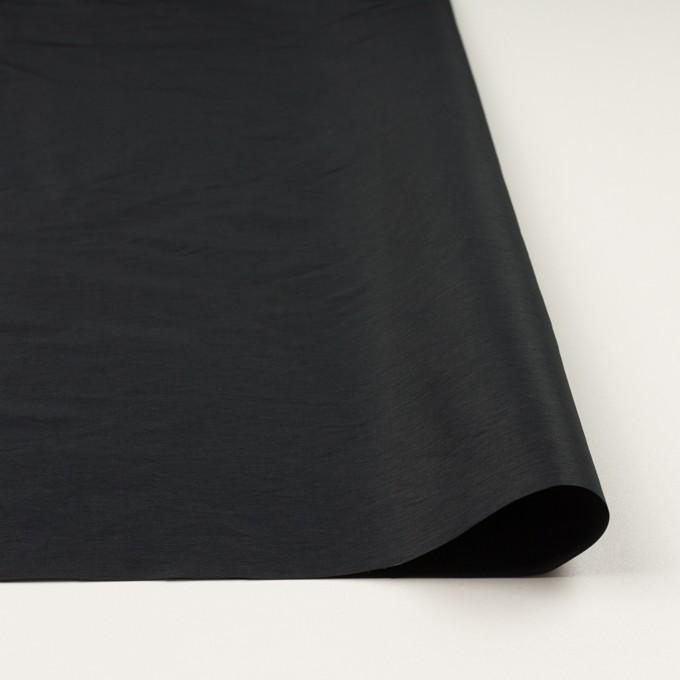 ポリエステル×無地(ブラック)×形状記憶タフタ_全2色 イメージ3