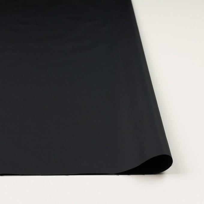 ポリエステル×無地(ブラック)×形状記憶タフタ イメージ3