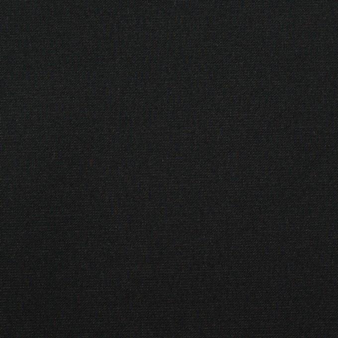 ポリエステル×無地(ブラック&オリーブグリーン)×形状記憶・二重織 イメージ1