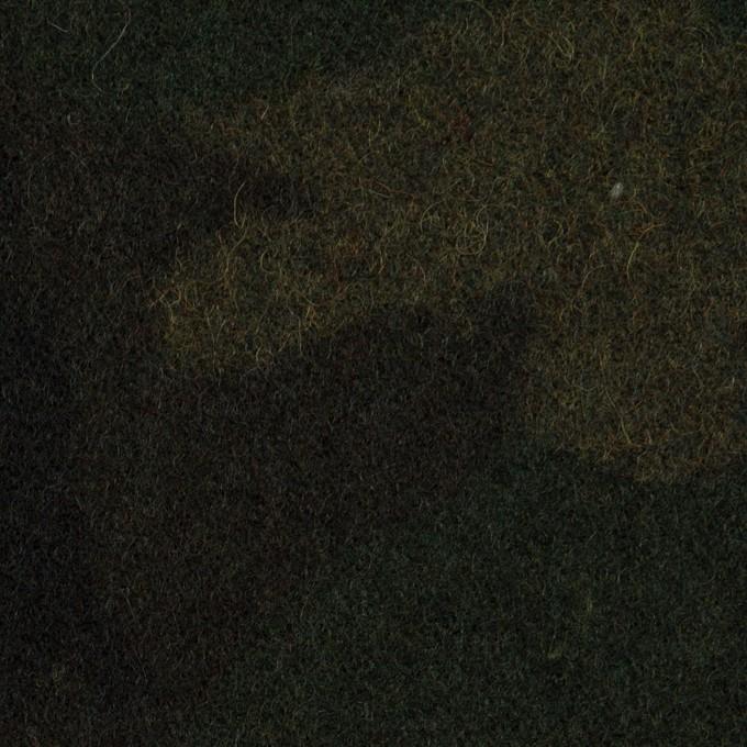 ウール×迷彩(モスグリーン)×ツイード_全2色 イメージ1