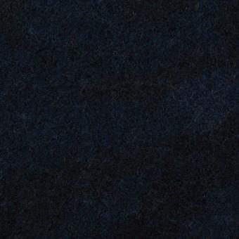 ウール×迷彩(ネイビー)×ツイード_全2色