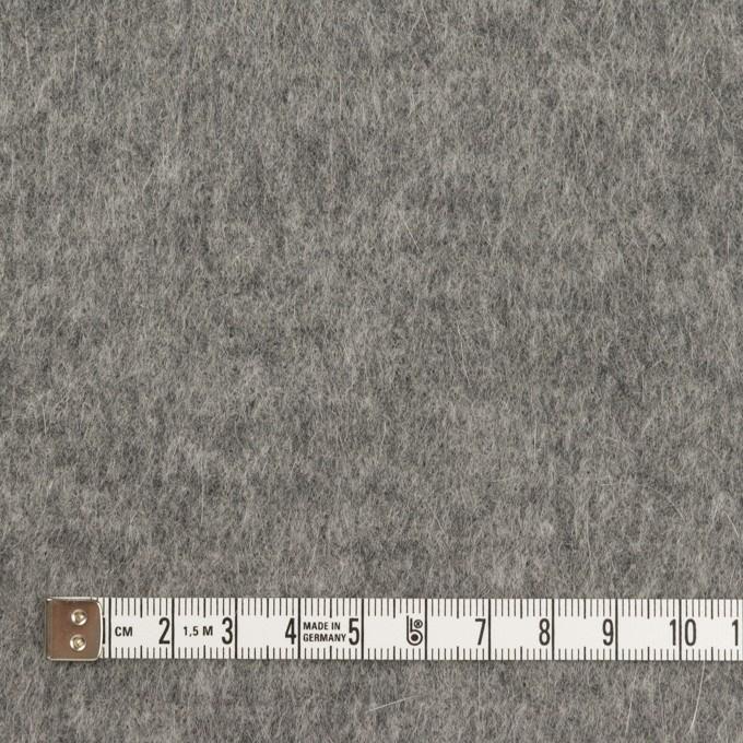 ウール&アンゴラ×無地(グレー)×シャギーニット イメージ4