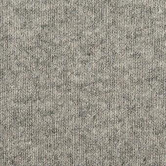 ウール×無地(グレー)×天竺ニット_全2色