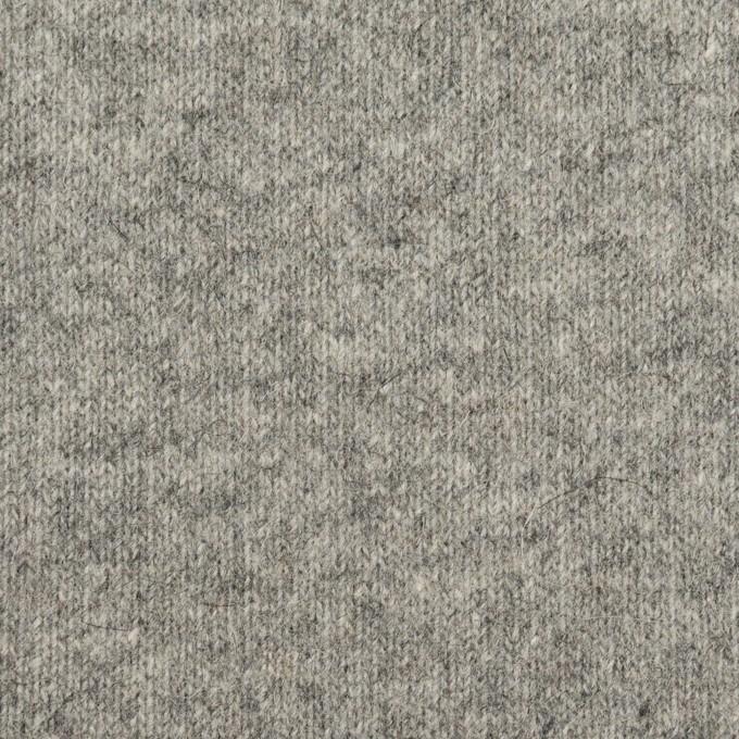 ウール×無地(グレー)×天竺ニット_全2色 イメージ1