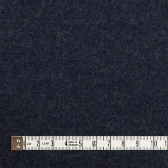 ウール×無地(アッシュネイビー)×圧縮ニット サムネイル4