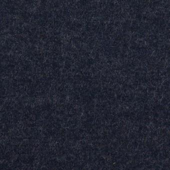 ウール×無地(アッシュネイビー)×圧縮ニット