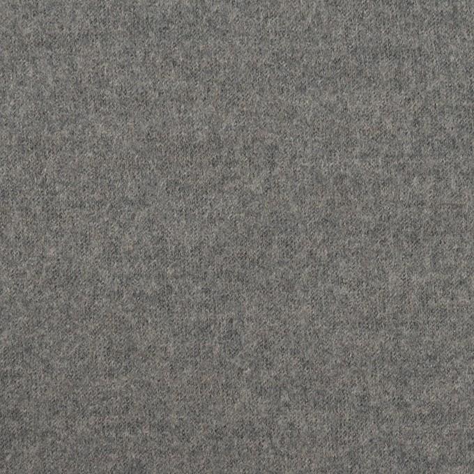 ウール×無地(グレー)×圧縮ニット イメージ1