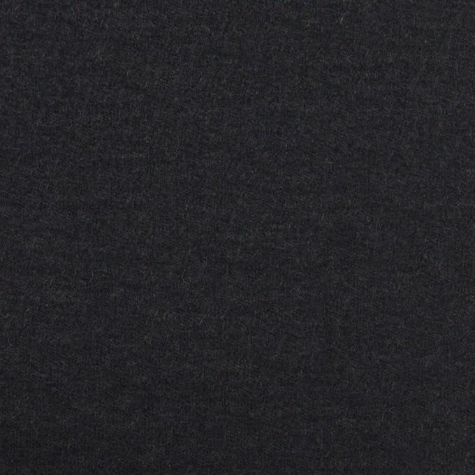 ウール×無地(ダークネイビー)×圧縮ニット_全2色 イメージ1