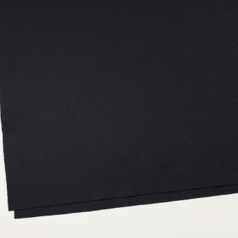 ウール×無地(チャコールブラック)×圧縮ニット_全2色 サムネイル2