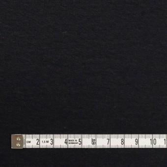 ウール×無地(チャコールブラック)×圧縮ニット_全2色 サムネイル4