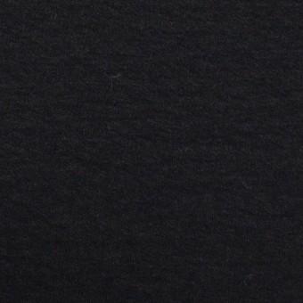 ウール×無地(チャコールブラック)×圧縮ニット_全2色