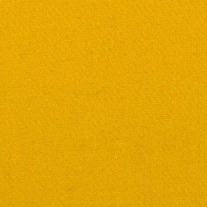 ウール×無地(マスタード)×ソフトメルトン_全2色 イメージ1