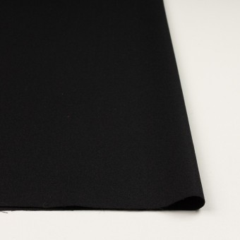 ウール×無地(ブラック)×ジョーゼット サムネイル3
