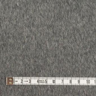 ウール&ポリエステル混×無地(チャコールグレー&ライトグレー)×Wフェイスビーバー サムネイル4