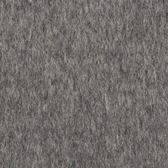 ウール&ポリエステル混×無地(チャコールグレー&ライトグレー)×Wフェイスビーバー