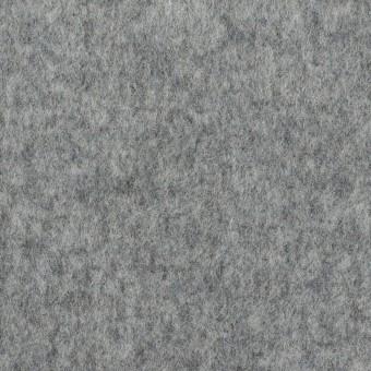 ウール×無地(グレー&マリンブルー)×Wフェイスビーバー