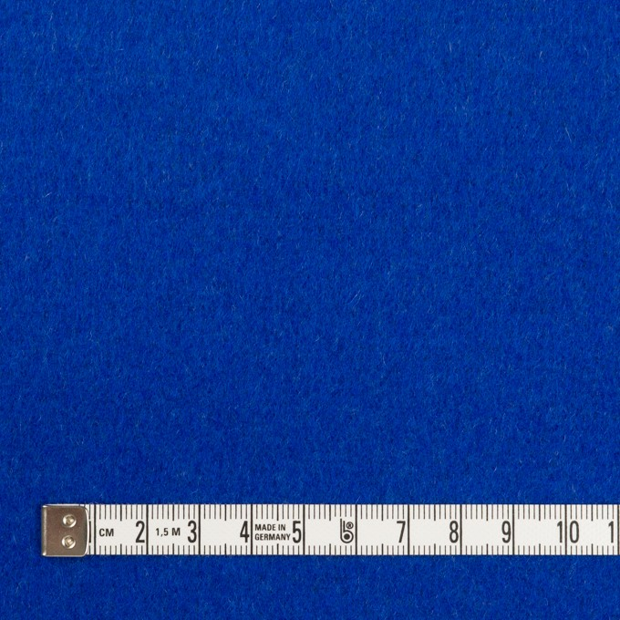 ウール×無地(グレー&マリンブルー)×Wフェイスビーバー イメージ6