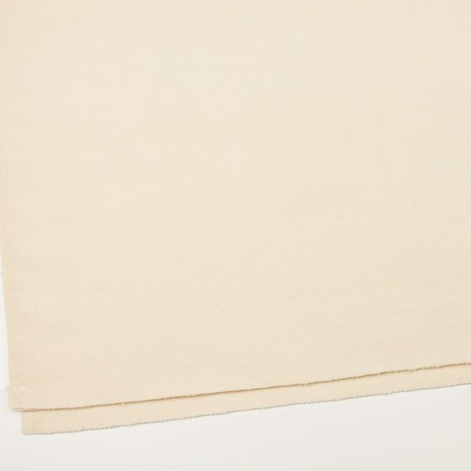 ウール×無地(キナリ)×かわり織 イメージ2