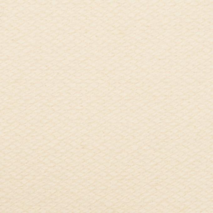 ウール×無地(キナリ)×かわり織 イメージ1