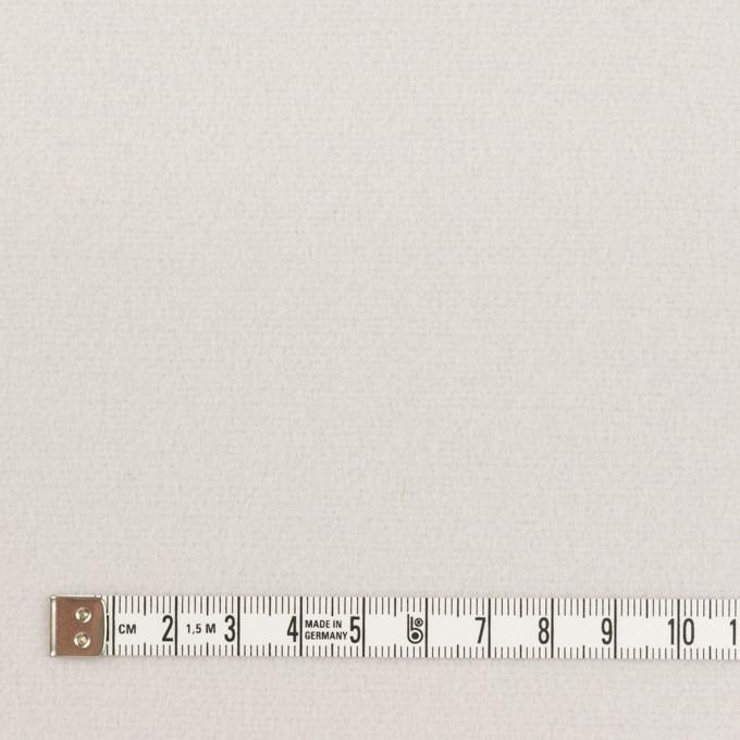 ウール&ナイロン×無地(パールグレー)×フラノ(フランネル) イメージ4