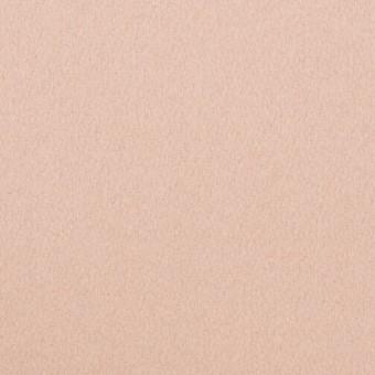 ウール×無地(ピンクベージュ)×フラノ(フランネル)