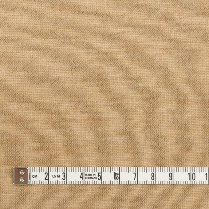 ウール&ナイロン×無地(ベージュ&アッシュブラウン)×Wニット イメージ4