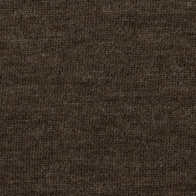 ウール&ナイロン×無地(ベージュ&アッシュブラウン)×Wニット イメージ7