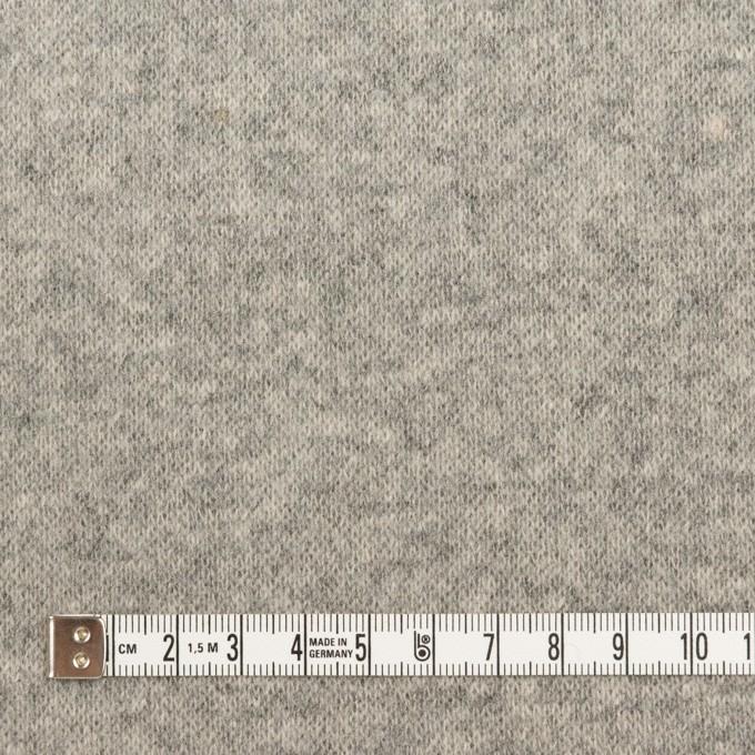 ウール×無地(グレー)×Wニット イメージ4