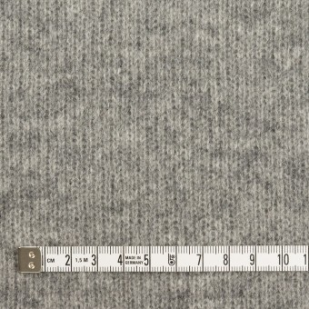 ウール&コットン×無地(グレー&チャコールグレー)×Wニット_全2色 サムネイル4