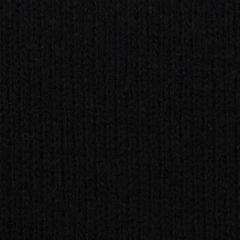 ウール&コットン×無地(ブラック&チャコールグレー)×Wニット_全2色