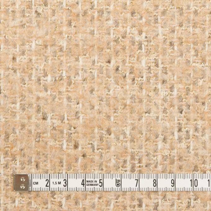 ウール&ナイロン混×ミックス(シャンパンゴールド)×ファンシーツイード イメージ4