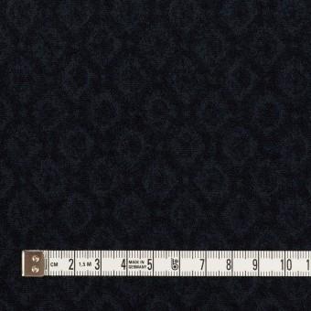 テンセル&アクリル混×小紋(ダークネイビー)×ジャガード サムネイル4