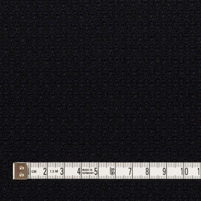 ウール×無地(ダークネイビー)×ツイード イメージ4