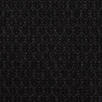 ウール×小紋(チャコール)×ツイード