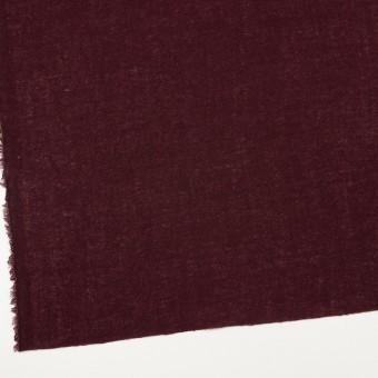 ウール×無地(ワイン)×ガーゼ_全3色 サムネイル2