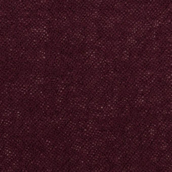 ウール×無地(ワイン)×ガーゼ_全3色 イメージ1